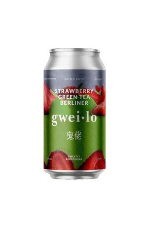 Gweilo Gweilo Strawberry Green Tea Berliner