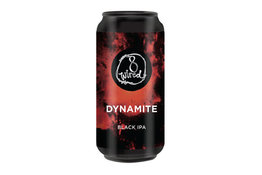 8Wired Brewing 8Wired Dynamite Black IPA