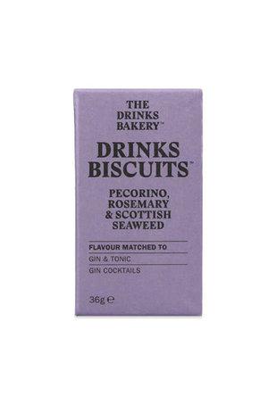 The Drinks Bakery The Drinks Bakery Pecorino, Rosemary & Seaweed Biscuit 36g