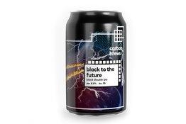 Carbon Brews Carbon Brew Black To The Future Black Double IPA
