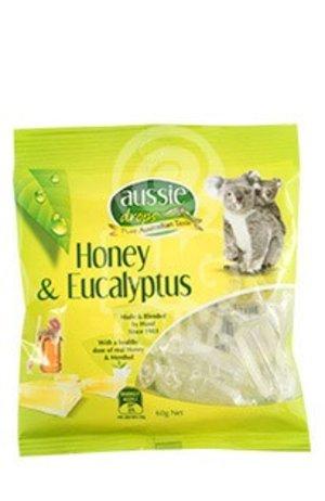 Aussie Aussie Drop Eucalyptus & Honey 60g