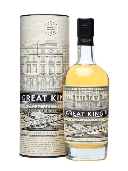 Compass Box Compass Box Great King Street Artist's Blend Blended Scotch Whisky*