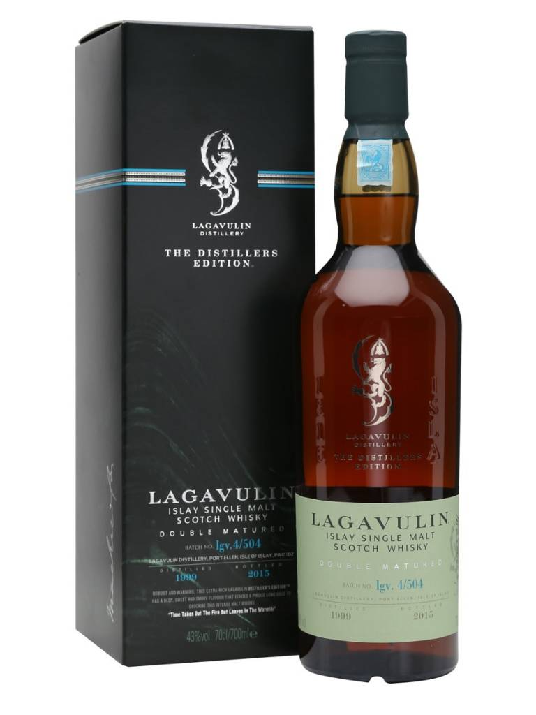 Lagavulin Lagavulin - The Distillers Edition, Single Malt Scotch Whisky, Islay 1999-2015