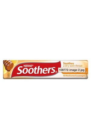 Nestle Soothers Honey and Lemon Stick 50g