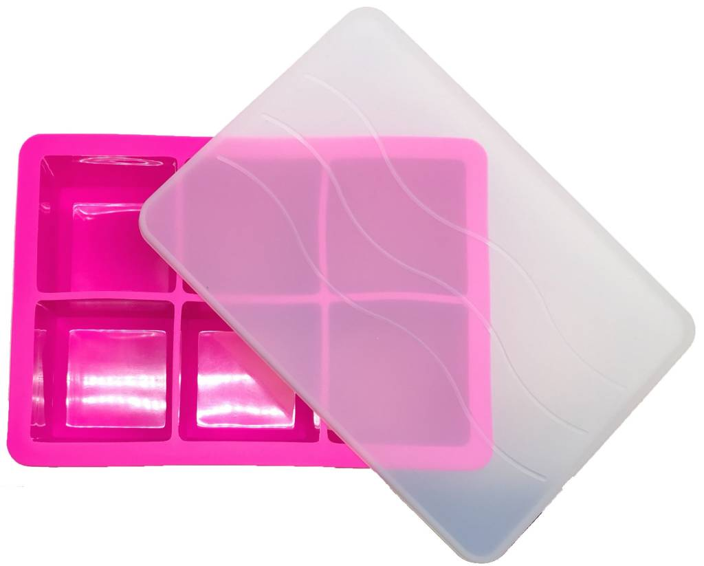 Cocktail Ice Cube Tray PINK 4.8 x 4.8cm