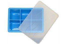 Ice Cube Tray BLUE 4.8 x 4.8cm