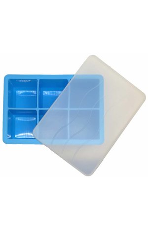 Ice Cube Tray BLUE 4.8 x 4.8cm