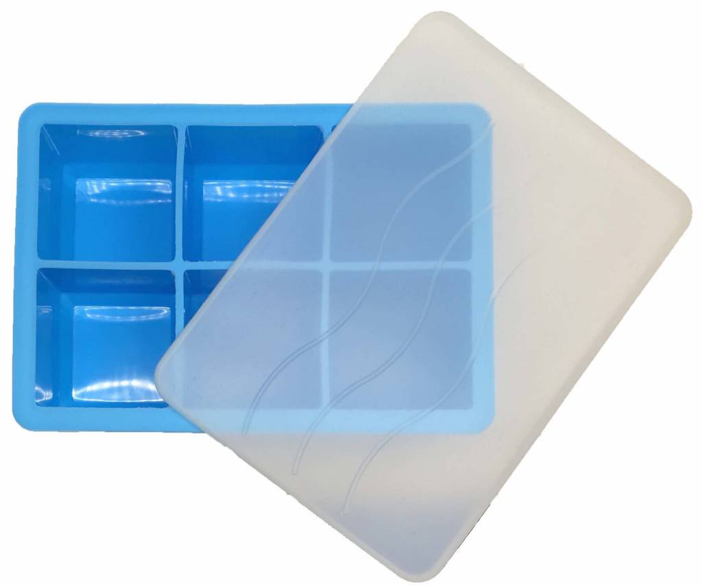 Cocktail Ice Cube Tray BLUE 4.8 x 4.8cm