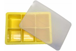 Ice Cube Tray YELLOW 4.8 x 4.8cm