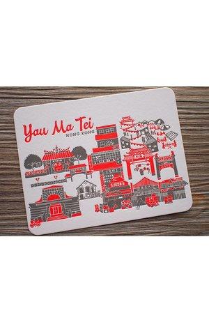 Ditto Ditto Ditto Postcard Yau Ma Tei