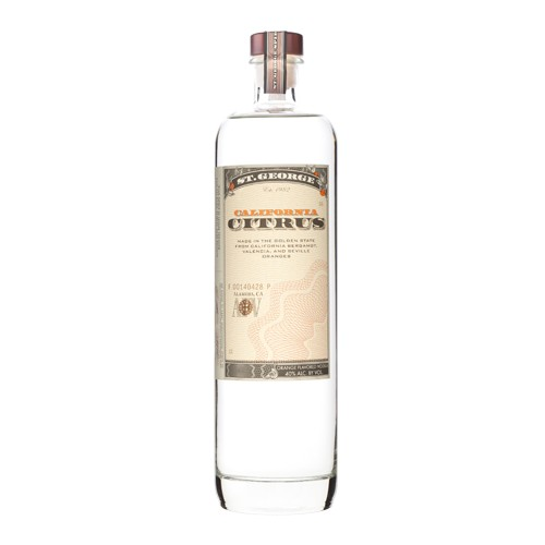 St. George St. George California Citrus Vodka
