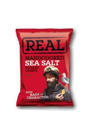 REAL Handcooked REAL Sea Salt 35g