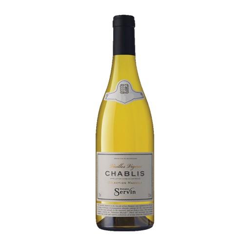 Domaine Servin Domaine Servin Chablis 2017, Vieilles Vignes, selection Massale, Chardonnay, Burgundy, France*