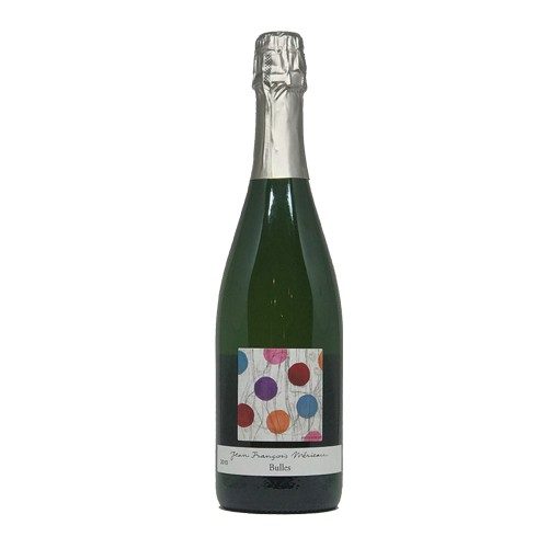 "Jean-François Mérieau Jean-François Mérieau ""Bulles"" 2010, Methode Traditionelle, Sparkling Blanc, Brut, Touraine AOC, Lorie Valley, France"