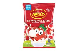 Allen's Allen's Strawberries & Cream 190g