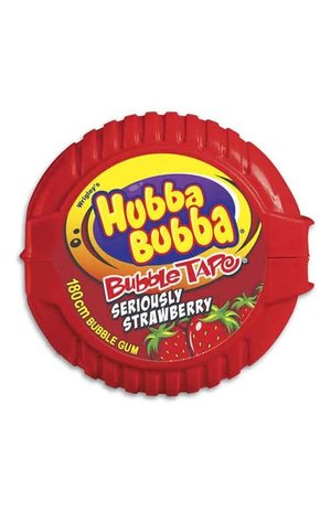 Hubba Bubba Hubba Bubba Bubble Tape Strawberry 56g