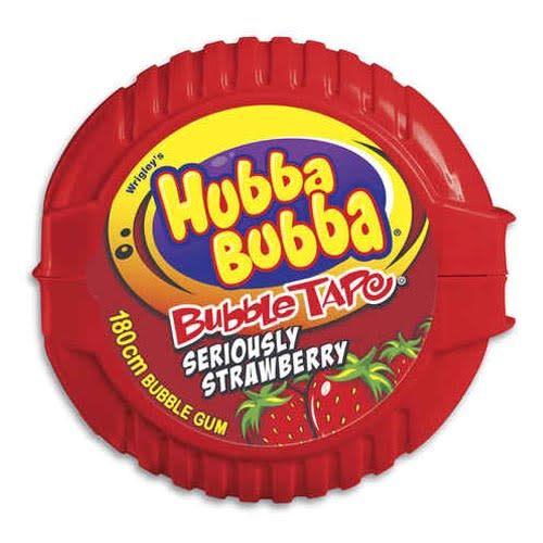 Hubba Bubba Hubba Bubba Tape Strawberry 56g