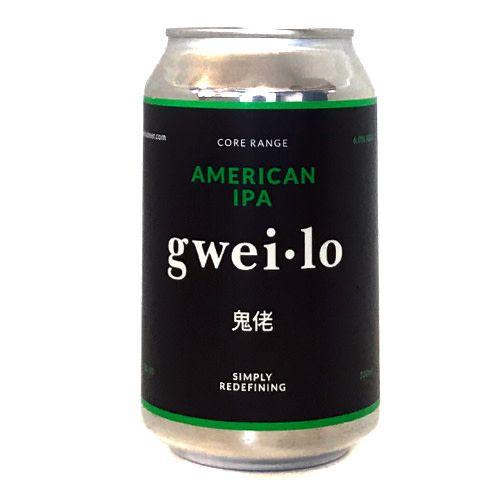 Gweilo Gweilo American IPA can