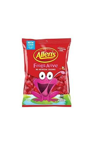 Allen's Allen's Frogs Alive 190g