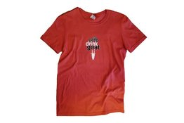 Mountain Goat Mountain Goat Eat Sleep Drink Goat men's Red T-Shirt S Size