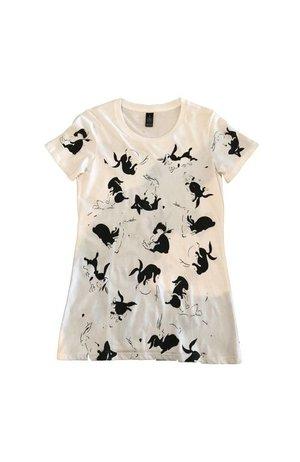 Garage Project Garage-Project-White-Mischief-Women's-T-Shirt S Size