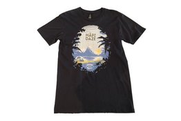 Garage Project Garage Project Hapi Daze Men's T Shirt Black M Size
