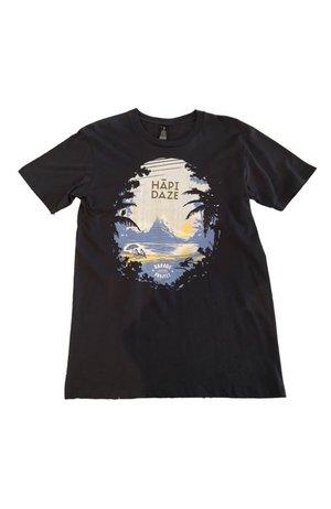 Garage Project Garage Project Hapi Daze Men's T Shirt Black M Size
