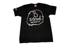 8Wired Brewing 8Wired Logo Classic Men's T-Shirt S Size