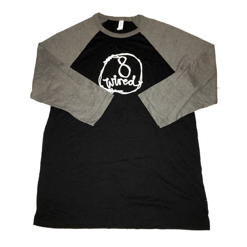 8Wired Brewing 8Wired Logo Long Sleeves Men's T-Shirt