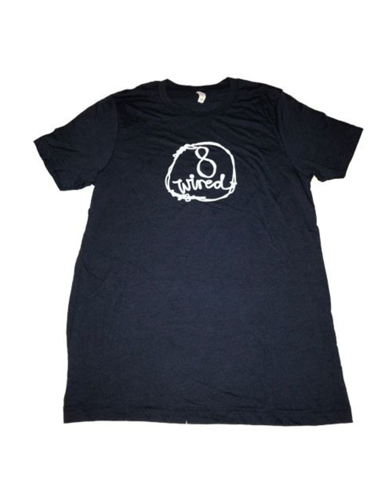 8Wired Brewing 8Wired Logo Men's T-Shirt S Size