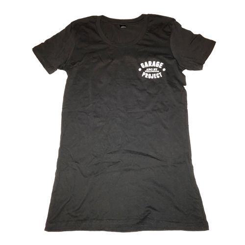 Garage Project Garage Project Logo Women's T-Shirt  Black S
