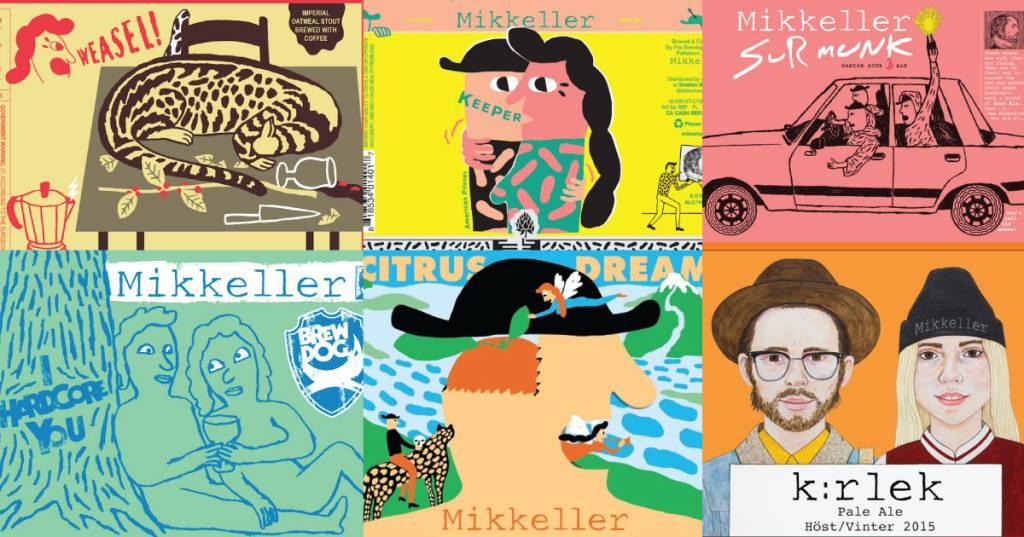 #藝術3月看酒標-Mikkeller