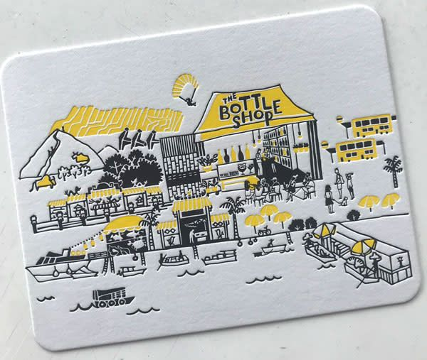 The Bottle Shop The Bottle Shop x Ditto Ditto Postcard