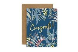 Bespoke Letter Press Bespoke Letterpress Greeting Card - Native Congratulations (Foil)