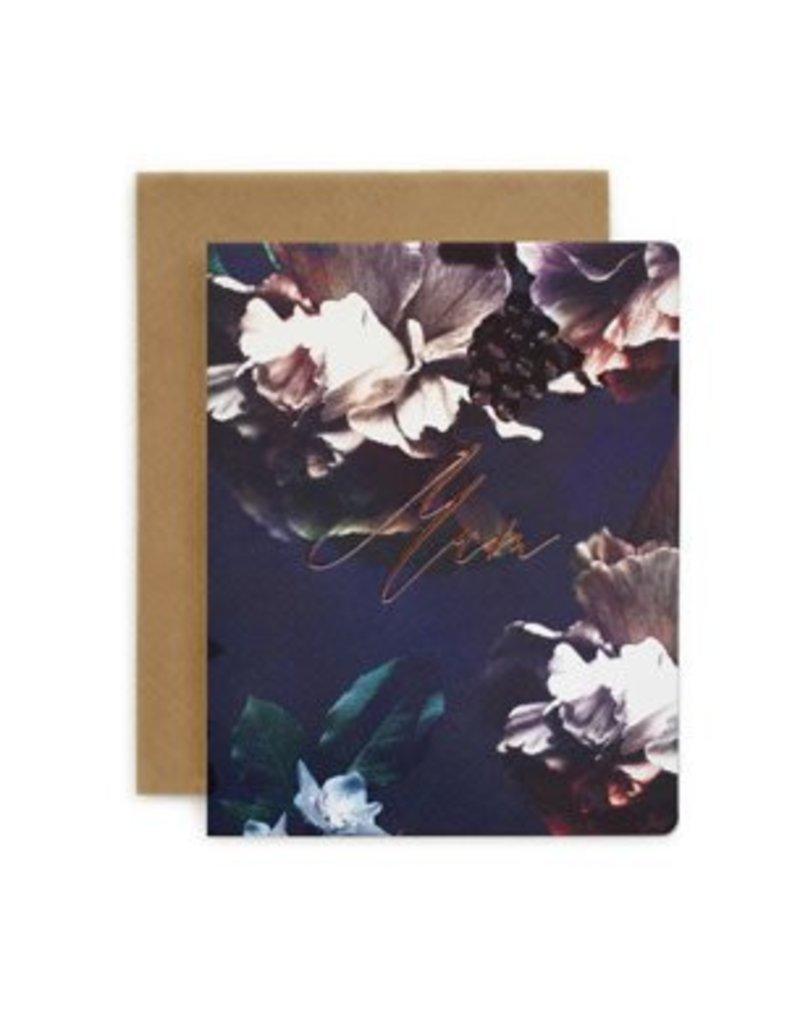Bespoke Letter Press Bespoke Letterpress Greeting Card - Mum