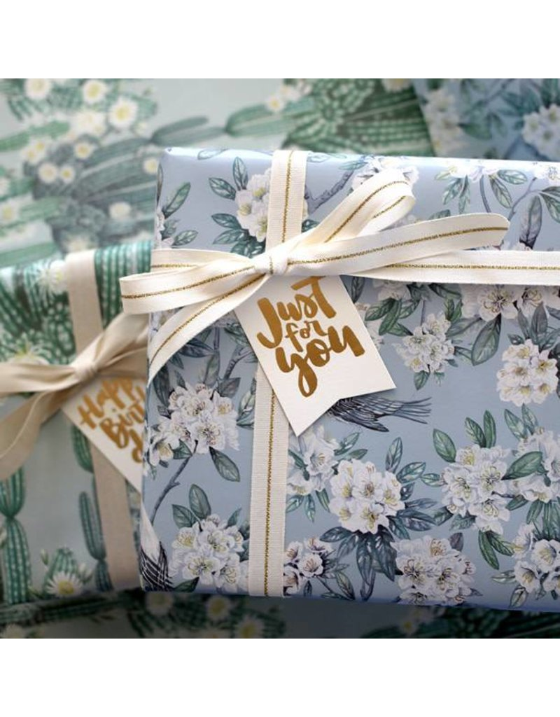 Bespoke Letter Press Bespoke Double Sided Gift Wrap - San Pedro / Victoria
