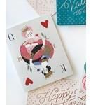 Bespoke Letter Press Bespoke Letterpress Greeting Card - Be my Valentine