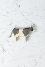 Ostheimer Toys Classic Black and White Dairy Calf