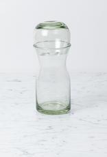 Handblown Glass Carafe - Short - 1 liter