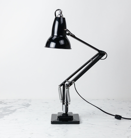 Anglepoise Original 1227 Chrome Desk Lamp - Jet Black