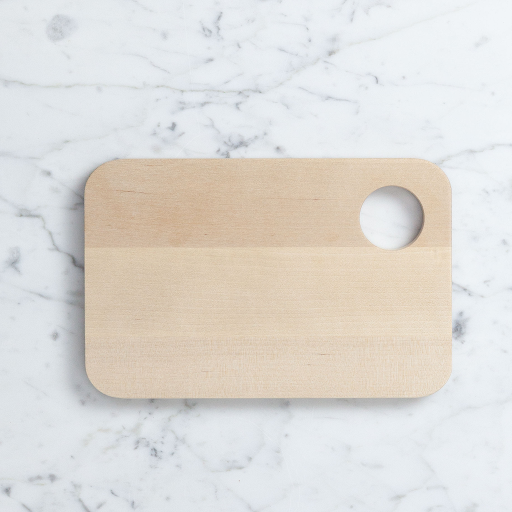 Iris Hantverk Swedish Birch Sandwich Board with Egg Cup