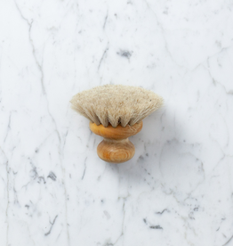 Iris Hantverk Swedish Small Bath Brush with Knob