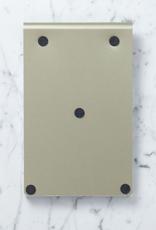 "Exaclair Exacompta FAF Refillable Metal Desk Pad - Blank - Large - 5"" x 8"""