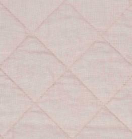 "Matteo Home Ida Vintage Linen Baby Comforter - Blush - 36"" x 50"""