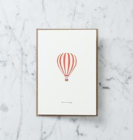 Kartotek Bon Voyage Balloon Card with Envelope
