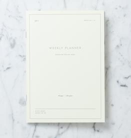 """Kartotek Simple Danish Weekly Planner Notebook - A5 - 6"""" x 8"""""""