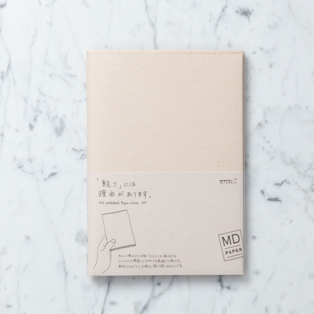 Paper Cover for Midori Simple Notebook - A5