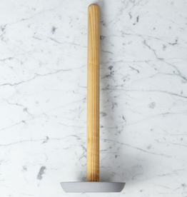 Birch Toilet Paper Holder - Light Grey Concrete