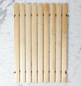 Swedish Oil Treated Birch Bath Mat Full Size