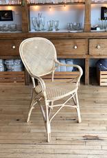 Sika-Design Rossini Rattan Bistro Chair - Natural